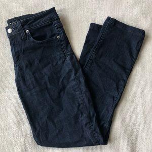 Bebe stretchy skinny ankle jeans